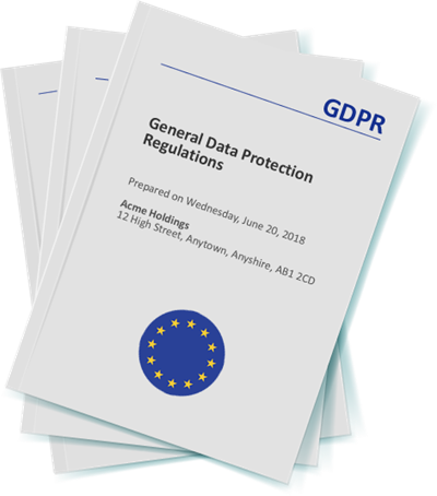 Create your GDPR Documents